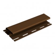 Планка соединительная коричневая Т-18  -  3,00м.
