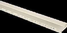 Планка отделочная для откосов, 3000 мм, цвет Кремовый