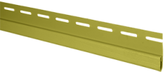 """Сайдинг Планка """"финишная"""", 3660 мм, цвет Оливковый"""