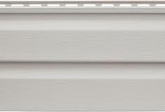 Виниловый Альта-Сайдинг светло-серый, 3,66м