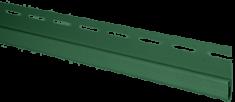 "Сайдинг Планка ""финишная"", 3660 мм, цвет Зелёный"
