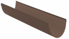 Жёлоб водосточный ПВХ, цвет коричневый d115мм 4м
